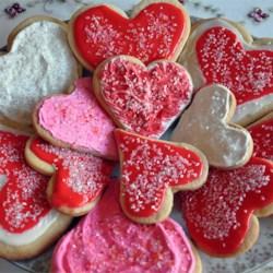 Valentines Shugga Cookies!