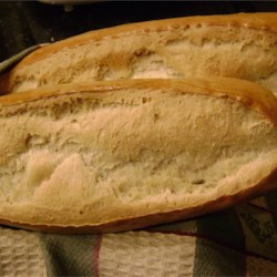 Italian Bread Using a Bread Machine Recipe - Wonderful Italian bread made in a bread machine then baked in the oven.