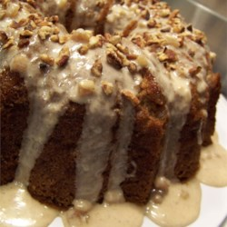 Apple Cinnamon Spice Cake Recipe - A delicious Bundt cake, combining the wonderful flavors of apples and cinnamon. An updated version of Grandma's favorite apple cake!