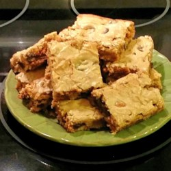 Blonde Brownies II Recipe - Use this recipe for a lighter version of brownies topped with chocolate chips.