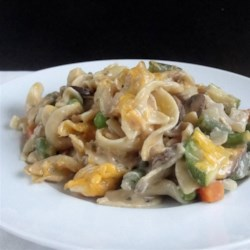 Tuna and Vegetable Casserole Recipe - Tuna and vegetable casserole comes together quickly with this recipe that calls for plenty of fresh and frozen vegetables that are usually on-hand.