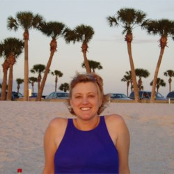 Shari in St. Pete at Sunset