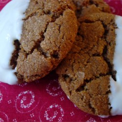 Ginger Crinkles Recipe - This is a recipe from my mother.  Our family has been making them for 50 years.