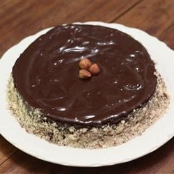 Norwegian Hazelnut Cake Recipe - This cake has a sweet, rich flavor, and is easy to make.