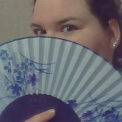 A fan that a friend brought back from Japan for me.