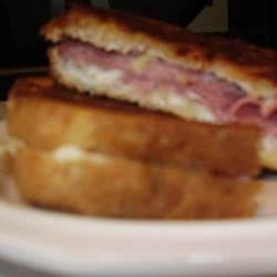 Grilled Leftover Ham and Pineapple Sandwiches