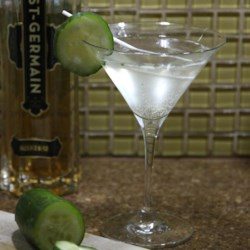 Diplomat Cocktail Recipe - This summery cocktail from the Vig Bar in New York City has a delightfully fresh flavor, thanks to plenty of fresh cucumber, a little lime juice, and elderflower liqueur.
