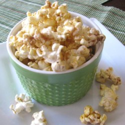 Sweet, Spicy, and Salty Popcorn Recipe - Cinnamon, garlic powder, and cayenne pepper are among the several seasonings in this family-favorite, sweet and spicy popcorn recipe.