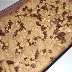 Keni's Peanut Butter Cookie Dough Brownies
