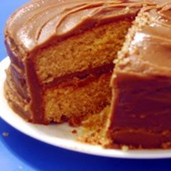 Caramel Cake I Recipe - If you want a cake that tastes like caramel, try this cake recipe with a caramel icing.