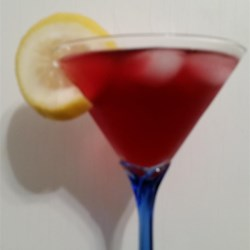 Concord Cosmopolitan Martini Recipe - This dark, tangy cocktail is great for an evening in.