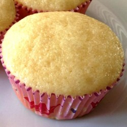 One Bowl Lemon Cupcakes Recipe - Based on 'One Bowl Chocolate Cake,' this recipe delivers fluffy and moist lemon cupcakes from batter achieved in one bowl.