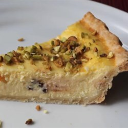Chef John's Ricotta Pie Recipe - Chef John's recipe for ricotta pie is much lighter and less-sweet than traditional dense and heavy cheesecake.