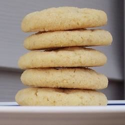 Lemon Sugar Tea Cookies Recipe - Delightful lemon flavored cookies.