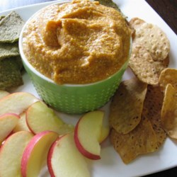 Yummy Apple and Pumpkin Dip Recipe - This creamy apple and pumpkin dip with mascarpone cheese is a festive appetizer for fall gatherings.
