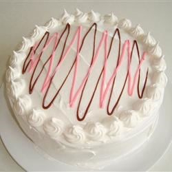 Whippee Ripple Strawberry Cake Recipe - Nice, easy, summertime cake that's great for potlucks.
