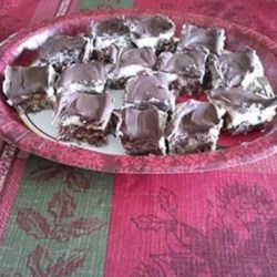 Fudge Meltaways Recipe - This recipe makes rich, very delicious, and attractive fudgey cookies with nuts, coconut, and graham cracker crumbs.
