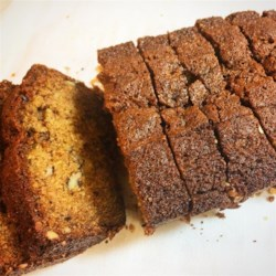 Persimmon Bread II Recipe - This lovely bread promises a mild persimmon flavor and a hint of nutmeg. This recipe makes three sweet, smaller loaves that would make perfect gifts!