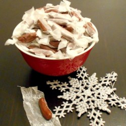 Chewy Chocolate Candies Recipe -   No cooking required in these chewy candies made with corn syrup, chocolate, powdered milk and confectioners' sugar.