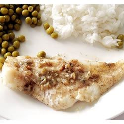 Fantastic Lemon Butter Fillet Recipe - Butter, lemon, and garlic are the keys to a simple, rich preparation for fish.