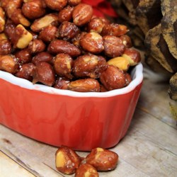 Sugar Spanish Peanuts Recipe - Spanish peanuts are simmered in sugared water until a nice sweet coating forms on the peanuts for a sweet anytime snack.