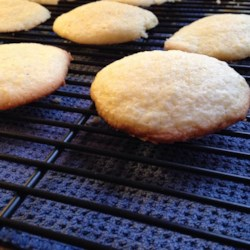 Gluten-Free Sugar Cookies Recipe - Gluten-free sugar cookies made with gluten-free flour taste just like the real thing. Top each cookie with cream cheese icing.