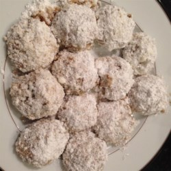 Vegan Mexican Wedding Cookies Recipe - Mexican wedding cookies get a vegan twist in this recipe that calls for coconut oil and pecans.