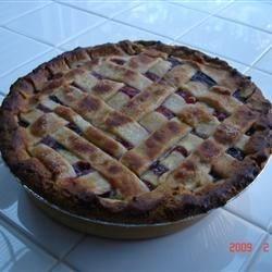 Cherry-Blueberry Pie