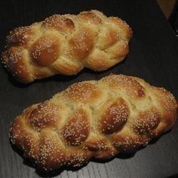 Six Braided Challah