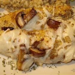 Mushroom Almond Chicken