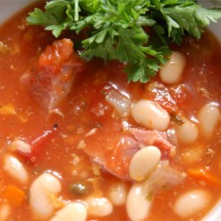 Pasta e Fagioli III Recipe - There are many recipes for this traditional Italian mainstay, usually served as a meal. Here's another that is slightly different.