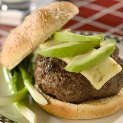 Mom's Big Burgers Recipe - These burgers are delicious and very big! A perfect blend of spices give these big burgers a spicy kick!