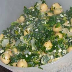Espinacas con Garbanzos (Spinach with Garbanzo Beans) Photos ...