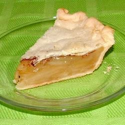 Chemical Apple Pie (No Apple Apple Pie) Recipe - Close your eyes when you eat this pie and you think you 're eating real apple pie. But, the apples in this delicious pie are really buttery crackers. It is amazing how this pie fools the taste buds.