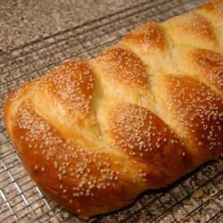 Challah with Sesame Seeds - yum!