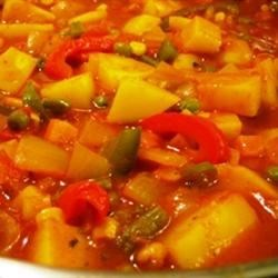Quick and Easy Vegetable Curry