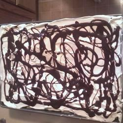 Cream Puff Cake - Didn't Even Last 12 Hours!