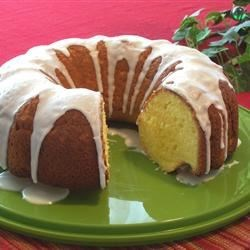 Key Lime Cake II Recipe - Lemon Bundt(R) cake gets a tropical twist thanks to the addition of Key lime juice and lemon pudding mix to the batter.