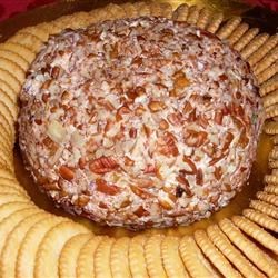 Cheese Ball I Recipe - This is a wonderful cheese ball. It is very easy to make and simply delicious. Whenever I make it for gatherings or work it always gets great reviews. Serve with an assortment of crackers.