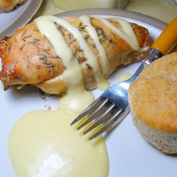 Honey Mustard Sauce Recipe - Dip your favorite meats in this sweet, tangy dipping sauce, or spread it on baked potatoes.