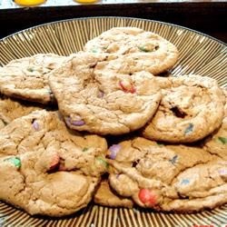 Fluffy Chocolate M&M™ Cookies