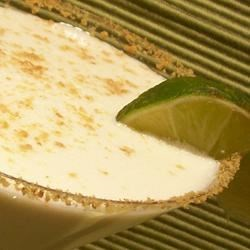 Susan's Key Lime Martini Recipe - This really does taste like Key Lime Pie! It's very sweet and refreshing and a favorite with my girlfriends!