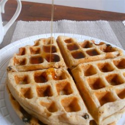 Classic Belgian Waffles Recipe - These quick waffles with a hint of maple and apple make a delicious weekend breakfast.