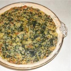 Italian Spinach Sausage Pie