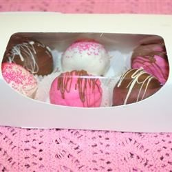 Valentine Cake Balls