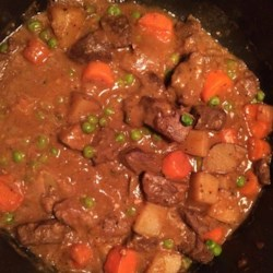 Venison Stew Recipe - Venison stew with a flavorful, red wine-based broth has plenty of vegetables for a hearty and warming meal on cold evenings.