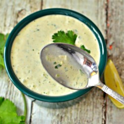 Lick-the-Spoon Cilantro Jalapeno Aioli Recipe - This cilantro, jalapeno, and garlic aioli is surprisingly versatile as a dressing, topping or dip.