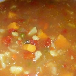 Vegan Vegetable Curry Soup