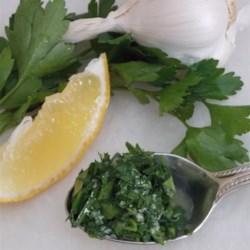Chef John's Gremolata Recipe - Chef John's recipe for gremolata produces the sharp and fresh Italian condiment perfect for garnishing hearty fall and winter meals.