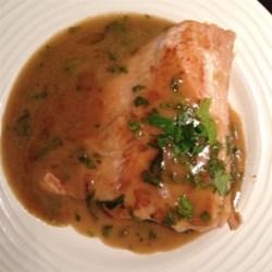 Seared Tuna with Wasabi-Butter Sauce Photos - Allrecipes.com